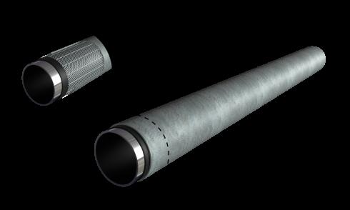 Наружное защитное бетонное покрытие